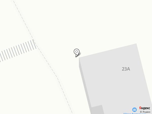 Штрафстоянка на карте Златоуста