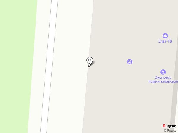 ТНТ-Златоуст на карте Златоуста