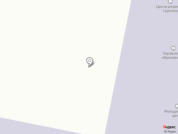 Центр методического и хозяйственного обеспечения, МАУ на карте Златоуста