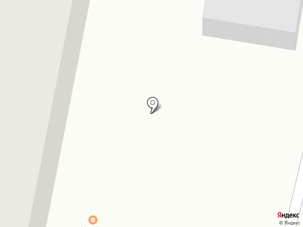 Ночная автостоянка на карте Златоуста