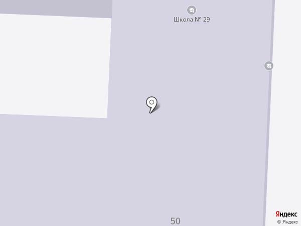 Средняя общеобразовательная школа №21 на карте Златоуста