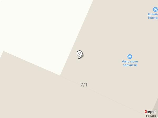 Автосервис на проспекте Мира на карте Златоуста