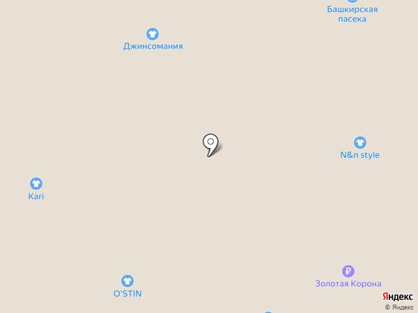 Тарелка на карте Златоуста