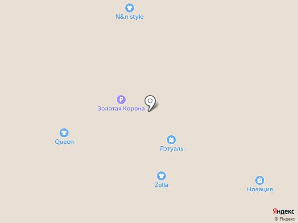 Новация на карте Златоуста