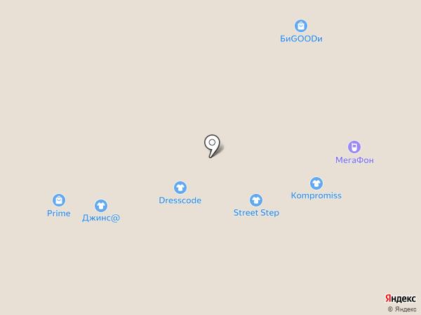 Евросеть на карте Златоуста