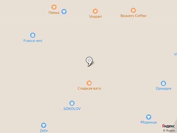 Сапфир на карте Златоуста