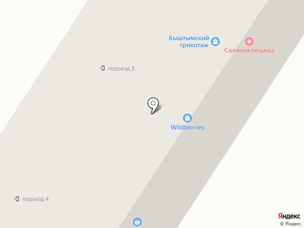 Пенсионный на карте Златоуста