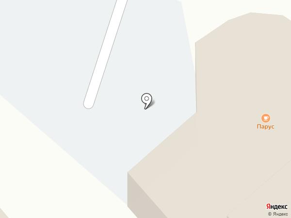 Парус на карте Златоуста