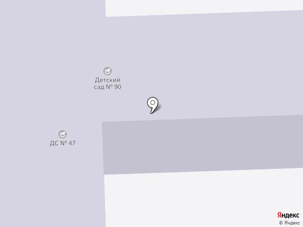 Детский сад №90 на карте Златоуста