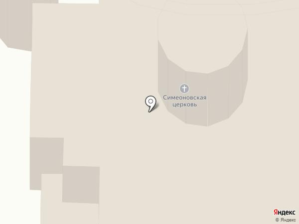 Храм Святого Праведного Симеона Верхотурского Чудотворца на карте Златоуста