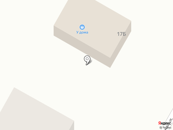 У дома на карте Златоуста