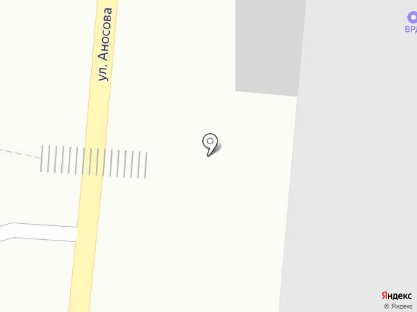 ВРК-3 на карте Златоуста