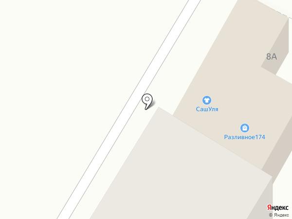 По пути на карте Златоуста
