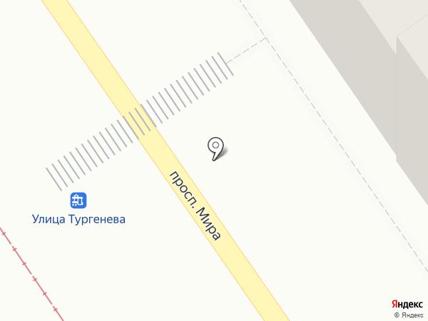 Спортивный дом на карте Златоуста