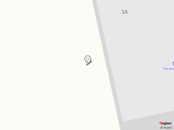 Таганай на карте Златоуста