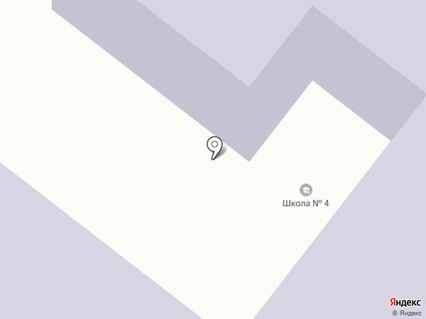 Средняя общеобразовательная школа №4 на карте Златоуста
