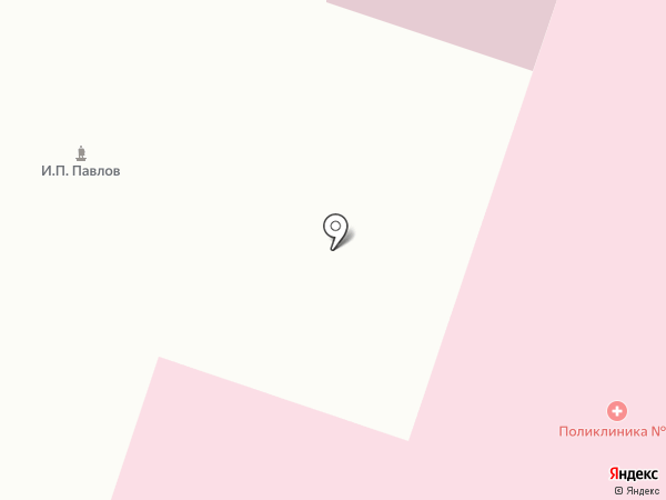 Златоустовская городская больница №3 на карте Златоуста