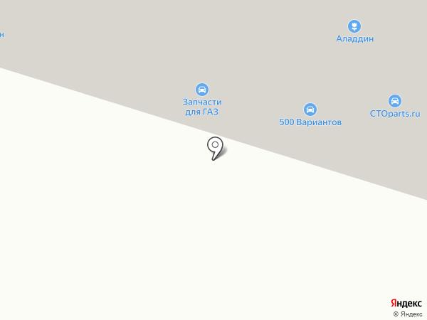 Караван на карте Златоуста