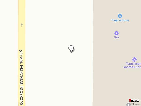 Ирна на карте Златоуста