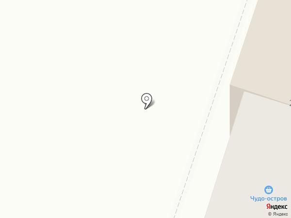 Чудо остров на карте Златоуста
