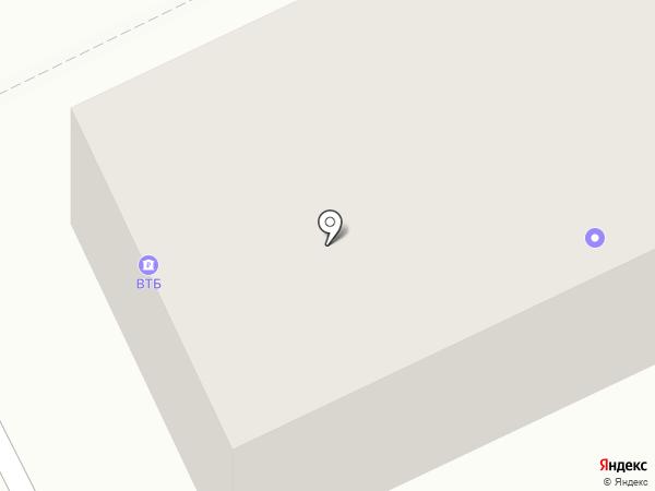 Златоустовская дистанция пути на карте Златоуста