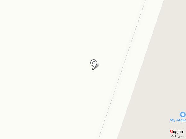 Каскад на карте Златоуста