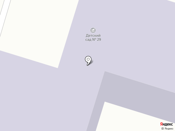 Детский сад №29 на карте Златоуста