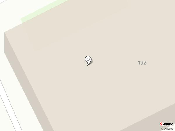 Столовая №1 на карте Златоуста