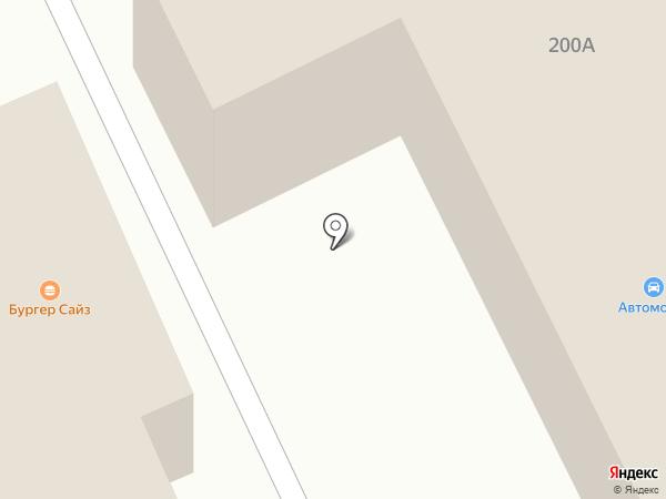 Автодруг на карте Златоуста