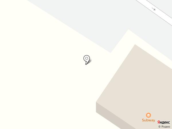 Subway на карте Миасса