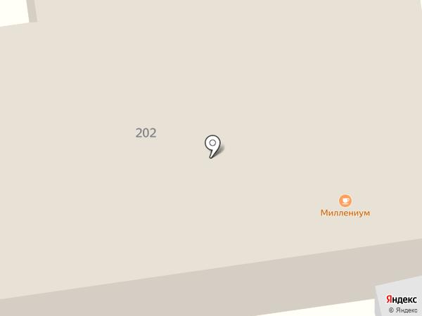 Миллениум на карте Нижнего Тагила