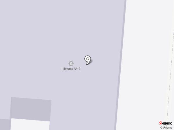 Средняя общеобразовательная школа №7 на карте Ревды