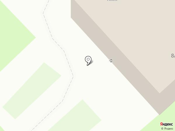 Производственное жилищно-коммунальное управление поселка Динас на карте Первоуральска