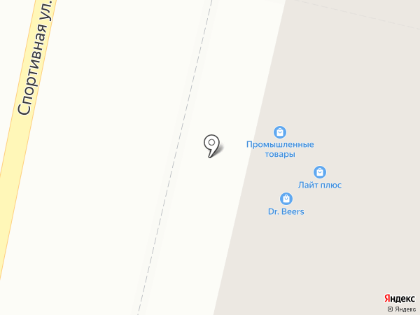 Лайт на карте Ревды