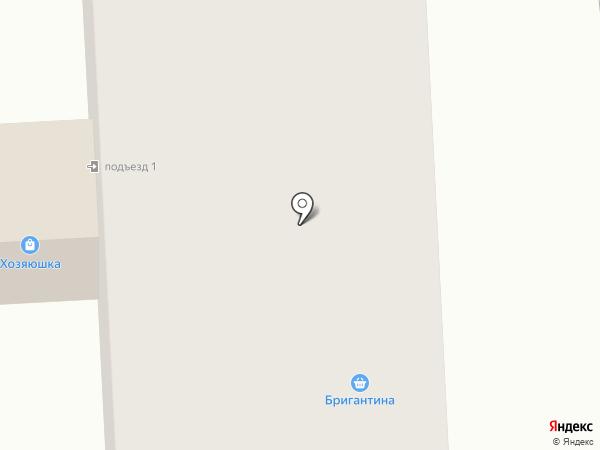 Бригантина на карте Горноуральского