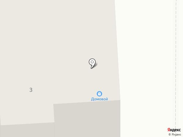 Домовой на карте Горноуральского
