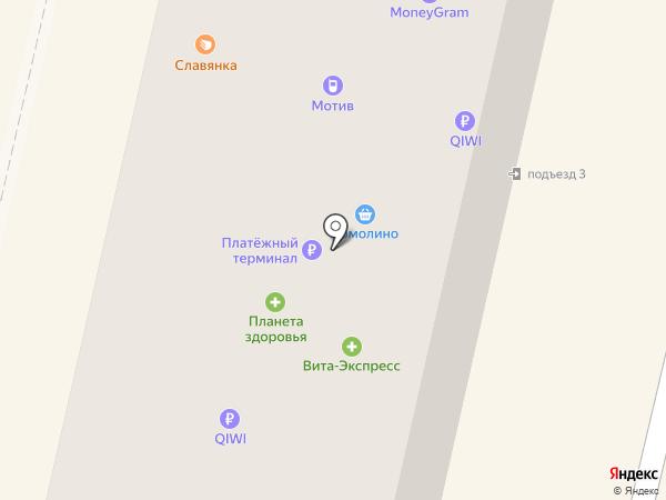 Каруселька на карте Ревды