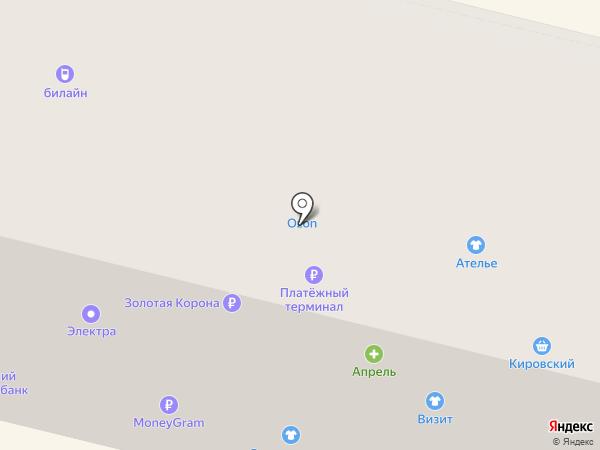 Мотив на карте Ревды