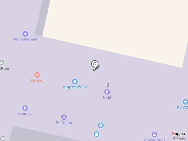 Ривьера на карте Ревды