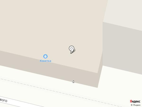 Магазин хлебобулочных изделий на карте Ревды