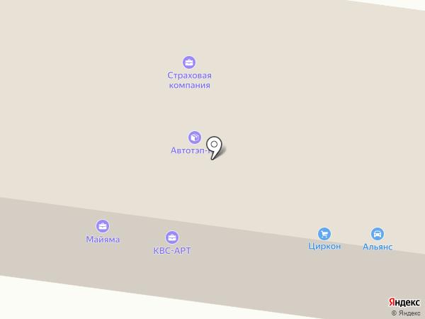Профи на карте Ревды