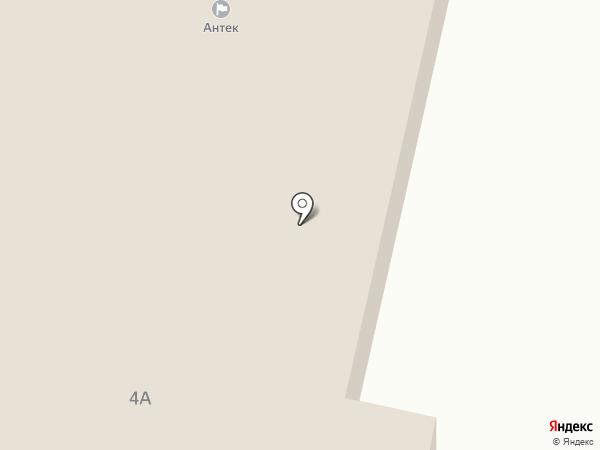 Антек на карте Ревды
