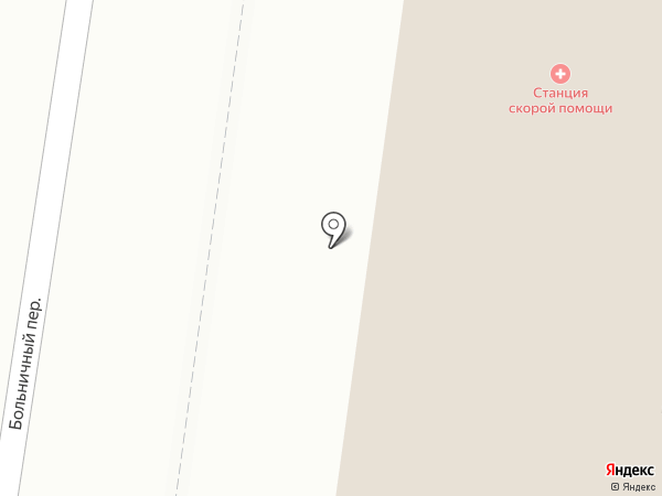 Скорая медицинская помощь на карте Ревды
