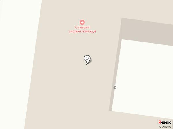 Ревдинская станция скорой медицинской помощи на карте Ревды