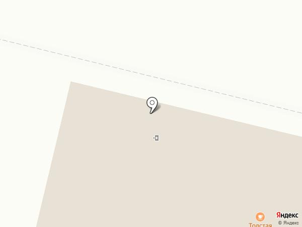 Сауна в Толстой Креветке на карте Ревды