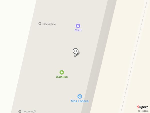 Форзац на карте Ревды