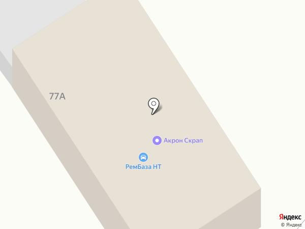 Уралметаллоснаб на карте Нижнего Тагила