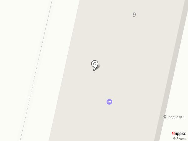 Общежитие на карте Ревды