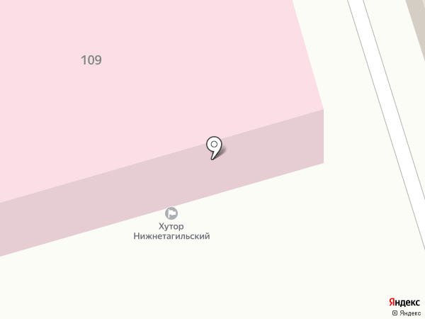 Нижнетагильская автомобильная школа на карте Нижнего Тагила