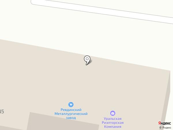T & T на карте Ревды